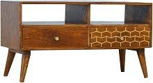 Artisan Furniture Solid Mango Wood & Brass 2