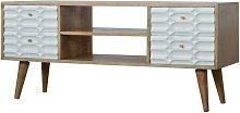 Artisan Furniture Solid Mango Wood - Capsule White