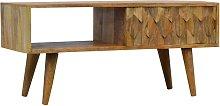Artisan Furniture Solid Mango Wood - Nordic Style