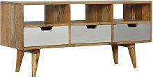 Artisan Furniture Solid Mango Wood TV Media Unit 3