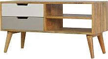 Artisan Furniture Solid Mango Wood TV Stand Media
