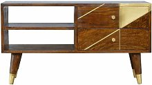 Artisan - Nordic Style Chestnut Media Unit with