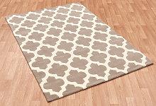 Artisan Sand Rectangle Modern Rug