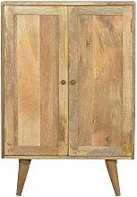 Artisan - Solid Wood Wine Utility Storage Cabinet