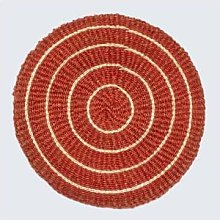 Artisans & Adventurers - Handwoven Sisal Circle