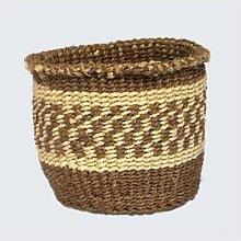 Artisans & Adventurers - Kenyan Sisal Basket Brown