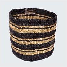 Artisans & Adventurers - Kenyan Sisal Basket Navy