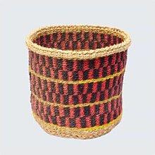 Artisans & Adventurers - Kenyan Sisal Basket Red