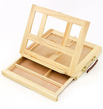 Artist Easel Box Art Drawing Painting Desk Table