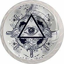 Artistic Eye 4PCS Drawer Knobs,Cabinet