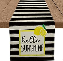 Artoid Mode Watercolor Stripes Hello Sunshine