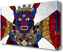 Arttibetan Thangka Ethnic Canvas Print Wall Art