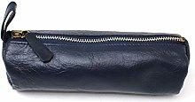 Artway Indigo Doodle Soft Leather Pencil Case -