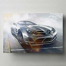 Artwork Modern Painting Supercar B M W M3 GTR E46