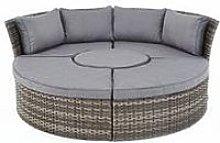 Aruba Compact Round Sofa Set &Amp; Day Bed