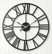 Arviny Silent Wall Clock, European Farmhouse