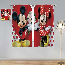 ARYAGO Bedroom Blackout Curtains Mickey Mouse