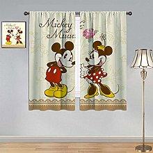 ARYAGO Blackout Curtain Mickey Mouse Curtains,
