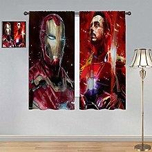 ARYAGO Blackout Window Draperies Iron Man
