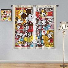 ARYAGO Blackout Window Draperies Mickey Mouse