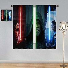 ARYAGO Decorative Curtain Star Wars Curtains, The