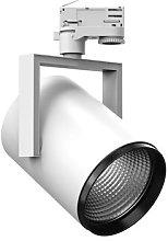 AS425 3-circuit track spotlight white warm white