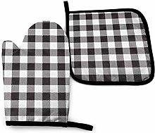 Asa Dutt528251 Black And White Checkerboard Oven