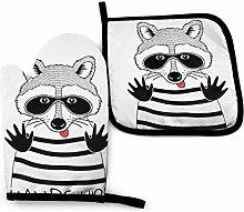Asa Dutt528251 Doodle Portrait Raccoon Black Thief