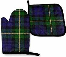 Asa Dutt528251 Scottish Plaid Green Black Blue Kan