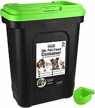 ASAB Dry Pet Food Storage Container - Top Flip Bin
