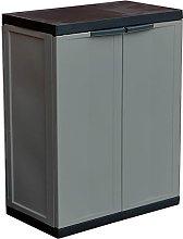 ASAB Medium Garden Garage Storage Cabinet Plastic