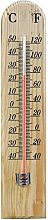 ASAB New Large Traditional Wooden Thermometer