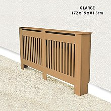 ASAB Raw MDF Radiator Cover Extra Large | Wall