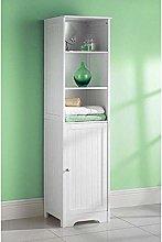 ASAB Wooden Bathroom Cabinet Storage Unit Mirror