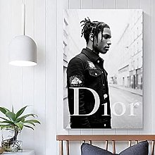 Asap Rocky Music Poster Canvas Art Poster and Wall