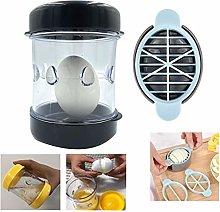 ASCbro A Boiled Egg Peeler and an Egg Cutter,Egg