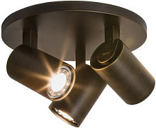 Ascoli Triple Round Ceiling light - / 3 adjustable