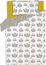 ASDA Disney Winnie the Pooh Bear Duvet Cover Set,