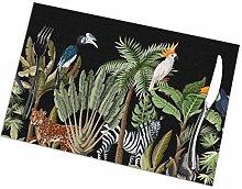 asdew987 Border Tropical Tree Such Palm Animals