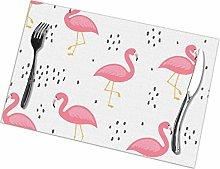 asdew987 Flamingo Cute Seamless Pattern Summer