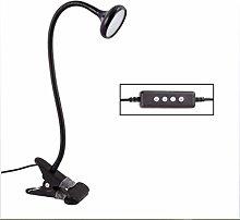 ASDF 360°LED Reading Light Clip-On Table Lamp, 3