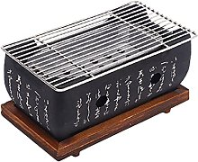 ASDF Charcoal Grill with Wire Mesh Grill And Base,