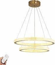 ASDFG Round LED Chandelier,Modern Living Room