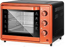 ASDFGH 32L Electric Mini Oven Orange Home Baking