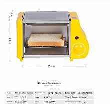 ASDFGH Mini Toaster Oven - 1.5L Small Portable