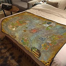 ASDIWON World of Warcraft Flannel Warm Soft Plush