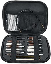 Asdomo 16pcs Cleaning Brush Kit .22 357 .38 Tube
