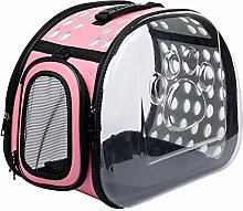 ASFJKSIE Pet Dog Cat Backpack Travel Cat Carrier