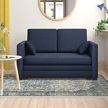 Ash Hill 2 Seater Sofa Bed Zipcode Design