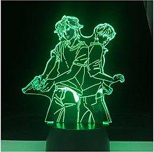 ASH Lynx and Eiji Okumura LED Anime LAMP Banana